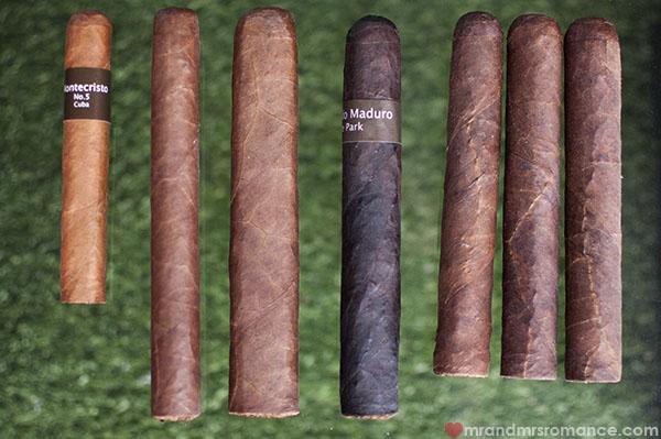 Cigars du jour - Montecristo - Bucanero - Dona Flor - Macanudo