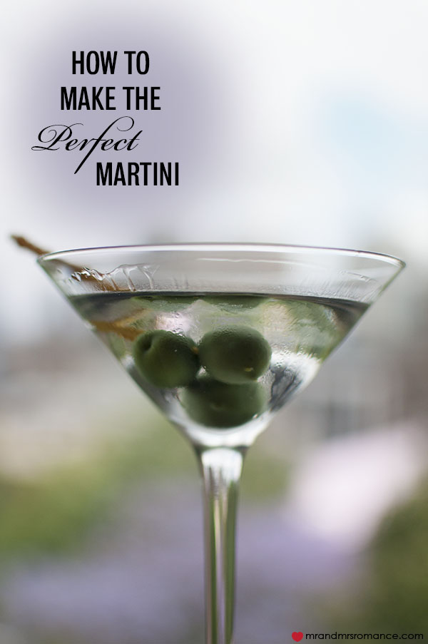 the perfect martini recipe dishmaps
