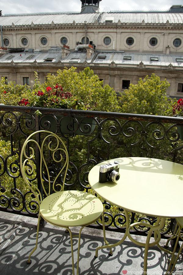 Paris - balcony