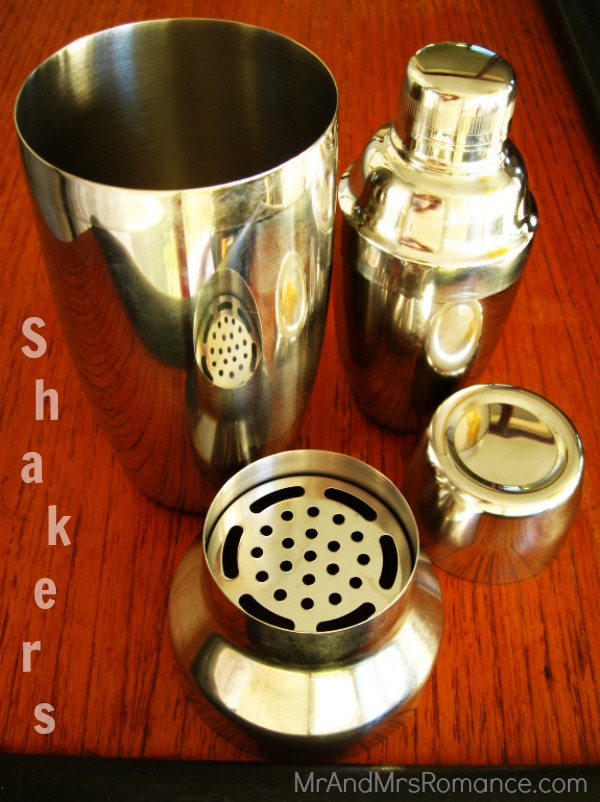 bar equipment cocktail party shaker strainer muddler