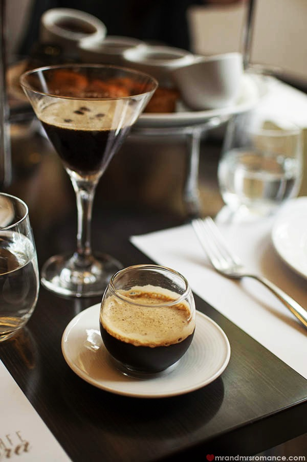 Intercontinental-Hotel Sydney High-Coffee espresso martini 
