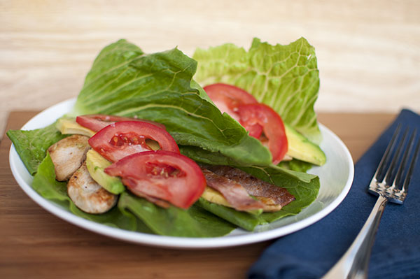 Mr and Mrs Romance - Recipes - Gluten free club sandwich wrap
