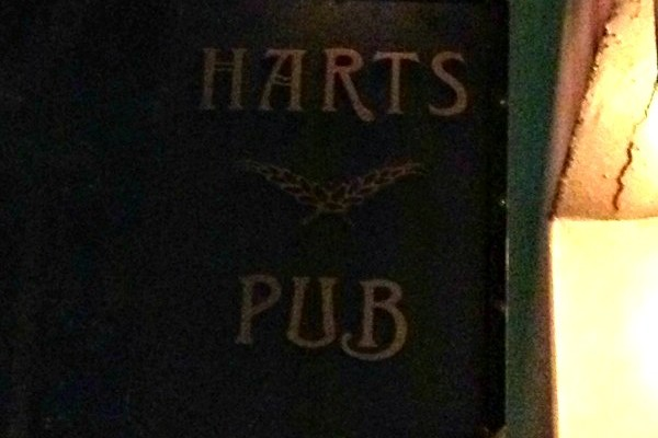 Mr and Mrs Romance - Friday drinks - the Harts Pub1