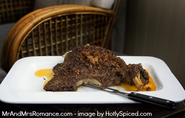 Mr and Mrs Romance - Slow cooked lamb from Hotly Spiced
