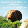 Mr and Mrs Romance - Travel - Title Devil's marbles