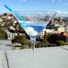 Mr and Mrs Romance - rooftops - martini