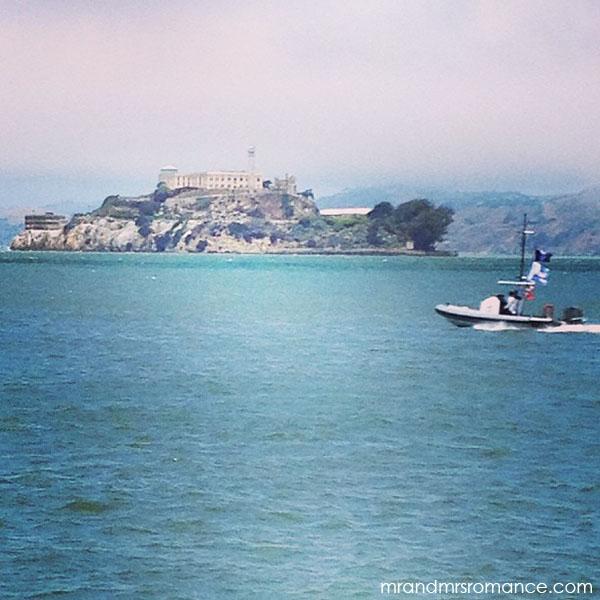 Mr and Mrs Romance - San Francisco alcatraz