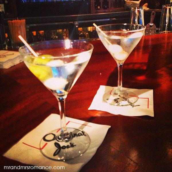Mr and Mrs Romance - San Francisco martinis