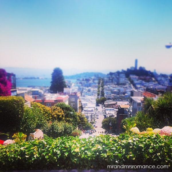 Mr and Mrs Romance - San Francisco