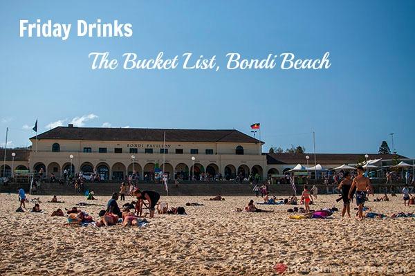 Mr & Mrs Romance - Friday Drinks - 1 Bucket List at Bondi Pavillion
