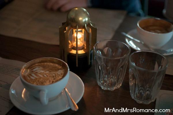 Mr & Mrs Romance - Neapoli Cafe Melbourne - coffee