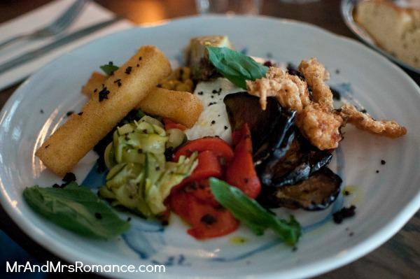 Mr & Mrs Romance - Neapoli Cafe Melbourne - mezza plate