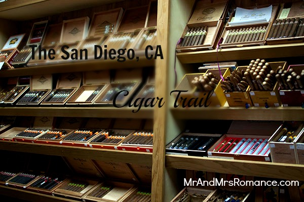 Mr & Mrs Romance - San Diego cigar trail - title