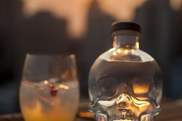 Mr and Mrs Romance - Crystal Skull Vodka cocktails