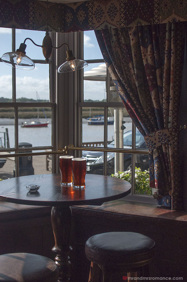 Where to drink - The Rose and Crown Wivenhoe Essex 6