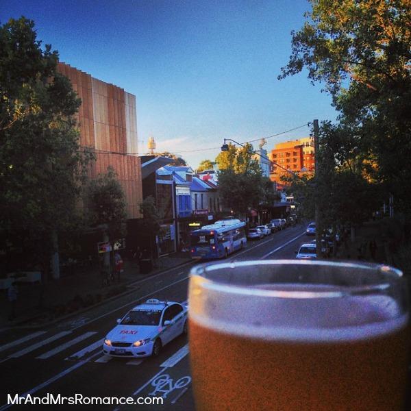 Mr & Mrs Romance - Instagram diary - MM 2 Beer O' Clock