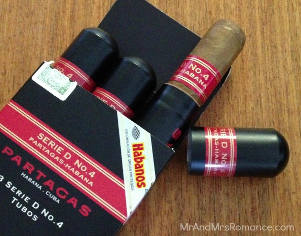 Mr & Mrs Romance - shopping for cigars - 4 Partagas D 4