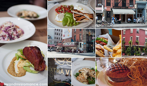 Where to eat in New York - Mr and Mrs Romance