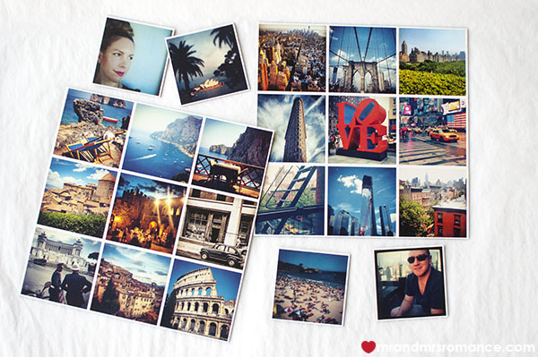 Stickygram photo magnets