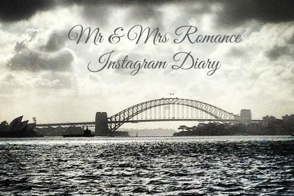 Mr & Mrs Romance - Insta Diary - AB1 Sydney Harbour