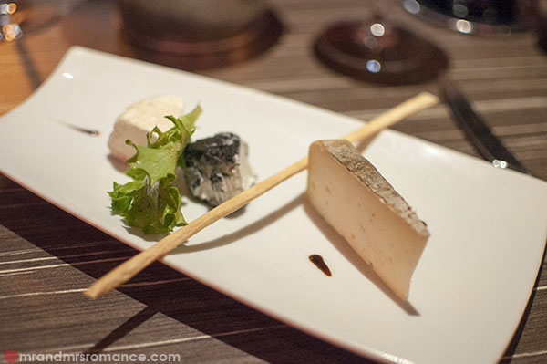 Mr and Mrs Romance - La Table du Pol - Cheese course