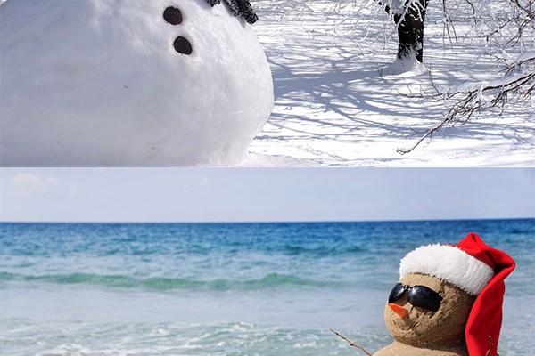 White Christmas vs Hot Christmas