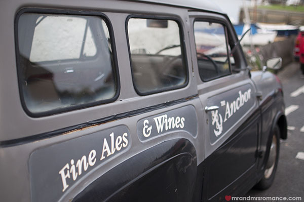 Mr & Mrs Romance - Friday Drinks - 6 The Anchor van in Rowhedge
