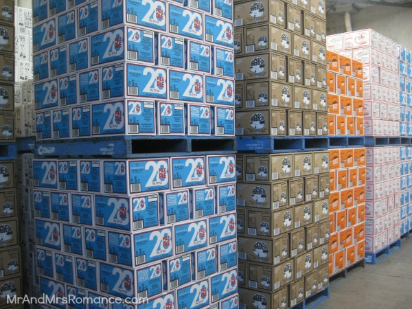Mr & Mrs Romance - Friday Drinks - 7 beer in the warehouse