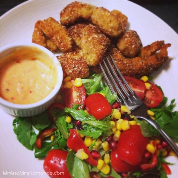 Mr & Mrs Romance - Insta diary - 3 gluten-free dinner