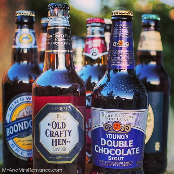 Mr & Mrs Romance - Insta diary - 7 UK DIY beer tasting