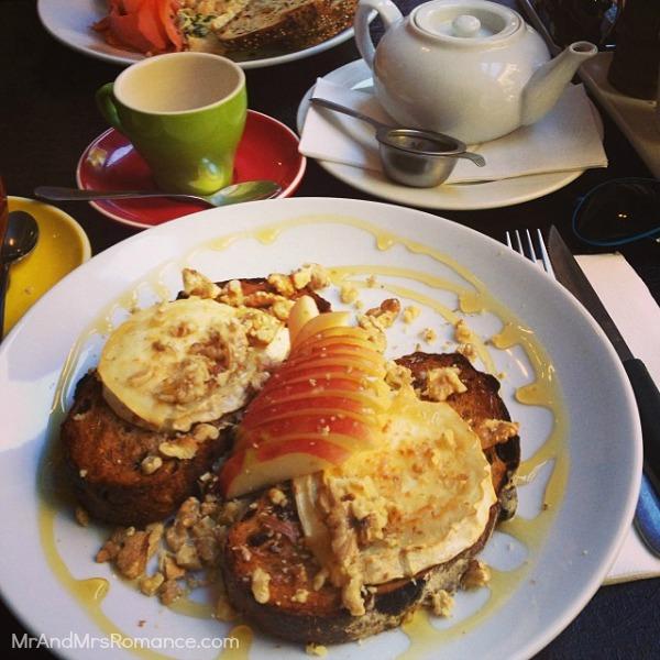 Mr & Mrs Romance - Ista Diary - 14 pre-wedding breakfast - Goats on Toast