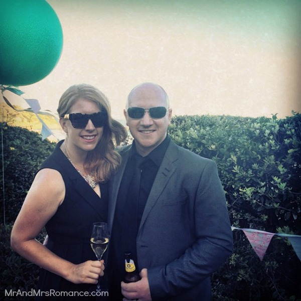 Mr & Mrs Romance - Ista Diary - 16a us at the wedding