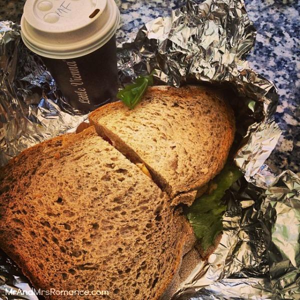 Mr & Mrs Romance - Ista Diary - 2 enormous sandwich