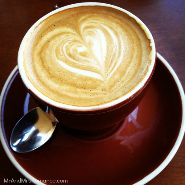 Mr & Mrs Romance - Ista Diary - 7 morning coffee at About Life in Bondi Jcn