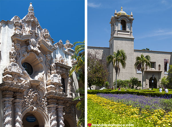 Mr and Mrs Romance - Balboa Park San Diego