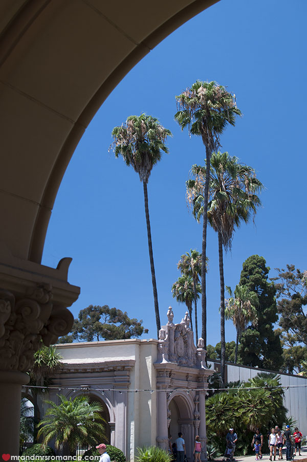 Mr and Mrs Romance - Exploring Balboa Park San Diego