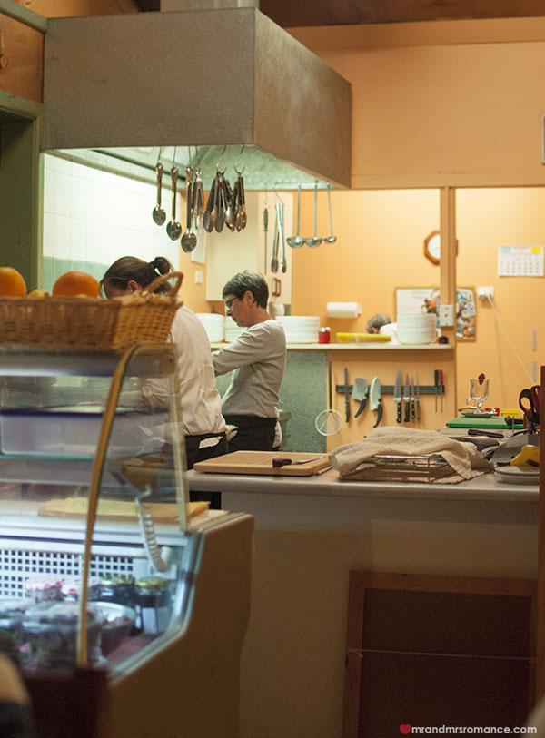 Mr and Mrs Romance - Fiorini's Restaurant - 2b the kitchen