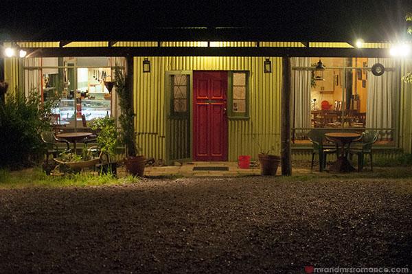 Mr and Mrs Romance - Fiorini's Restaurant - 9 good night!