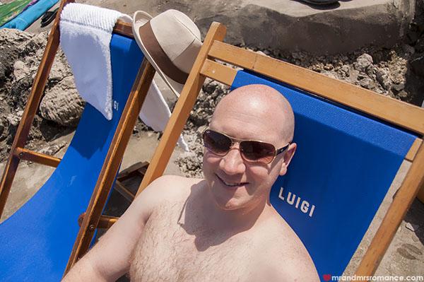Mr and Mrs Romance - Mr R in Capri