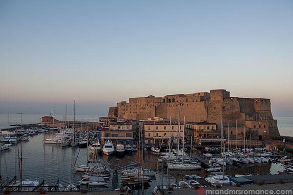 Mr and Mrs Romance - Naples coastline
