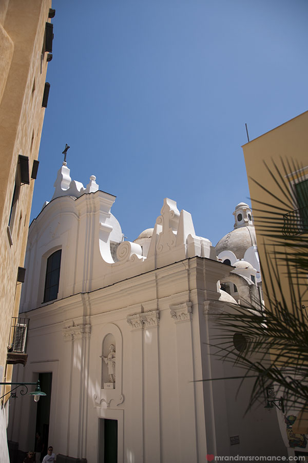 Mr and Mrs Romance - Santo Stefano Cathedral Capri