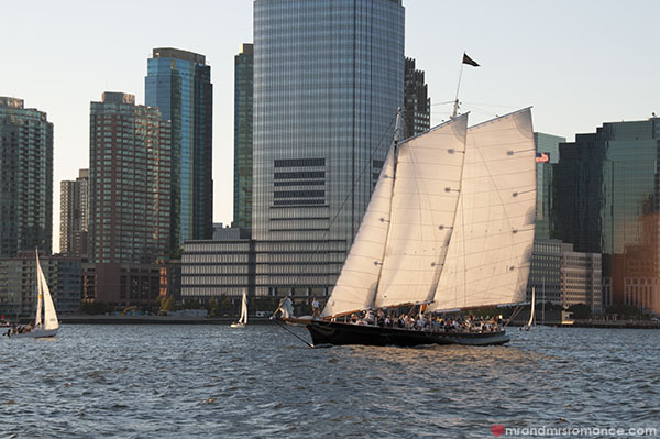 Mr and Mrs Romance - Yachts on the Hudson River - NYC sailing