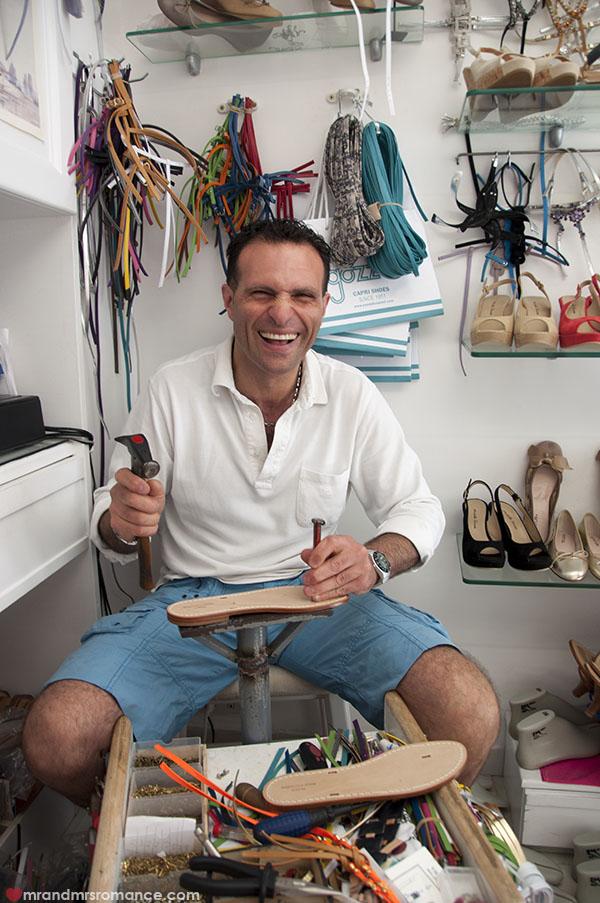 Mr and Mrs Romance - my handmade shoes in capri