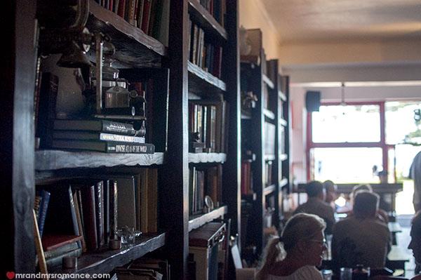 Mr & Mrs Romance - Friday Drinks - 5 inside Hemingway's cafe, Manly