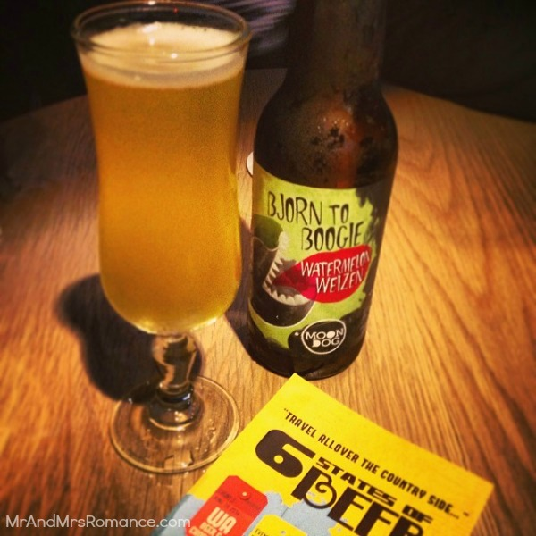 Mr & Mrs Romance - Insta Diary - 9 6 States of Beer at the Oaks