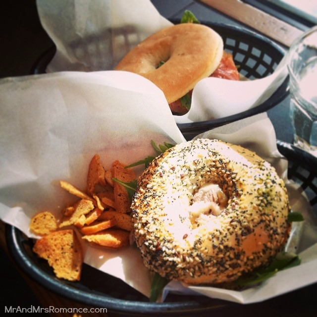 Mr & Mrs Romance - Insta diary - 14 bagels from Brooklyn Hide