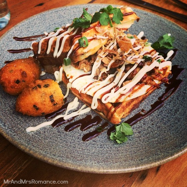 Mr & Mrs Romance - Insta diary - 5 Mary's meat waffle at Paramount Coffee Project