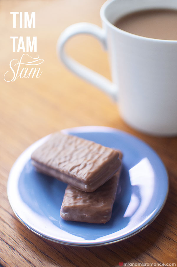 Mr and Mrs Romance - How to do the perfect Tim Tam Slam
