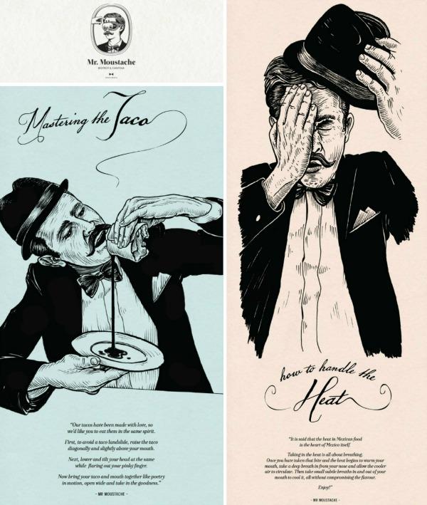 Mr Moustache Collage