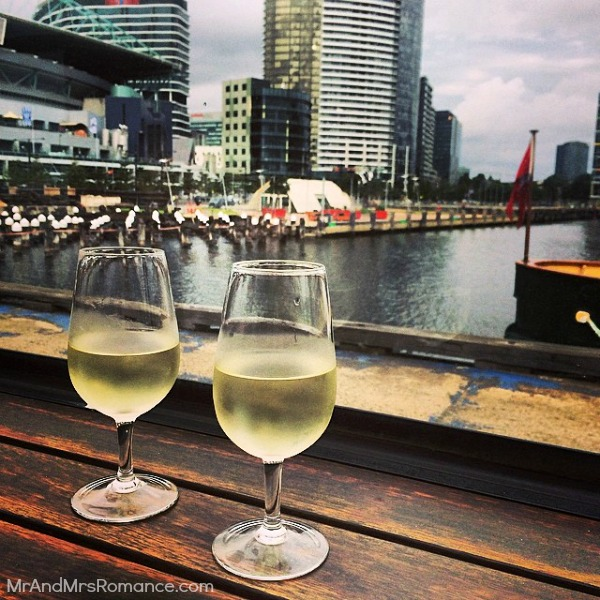 Mr & Mrs Romance - Insta Diary - 6aHR6 wine with @adbabetta in Melbourne
